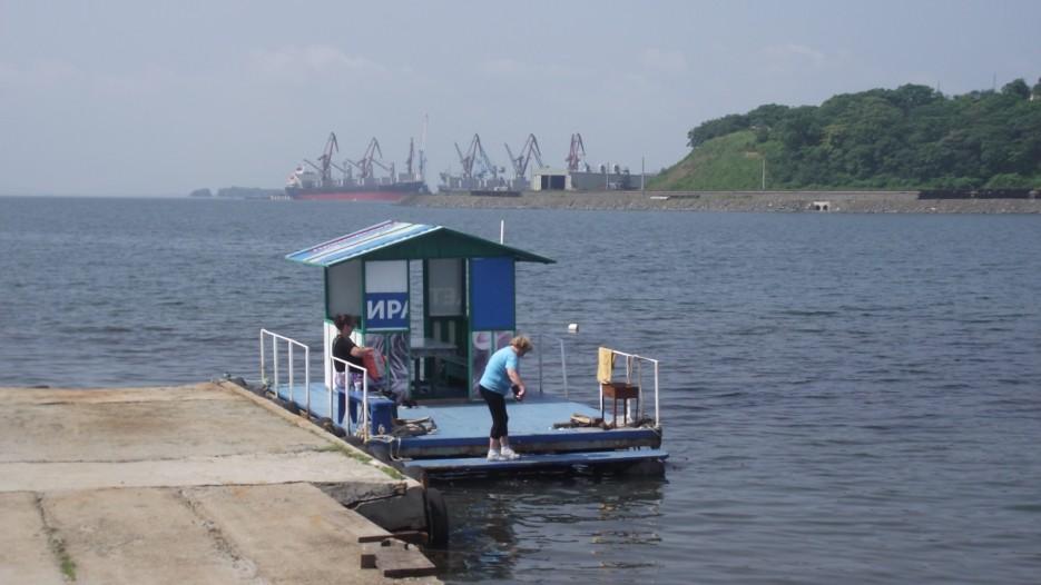 Фото 44169 | Посьет. Паромная переправа Посьет - полуостров Краббе.