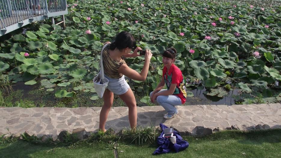 Начинаем фотографироваться на озере лотосов | Фототур по Хасанскому району 9 августа