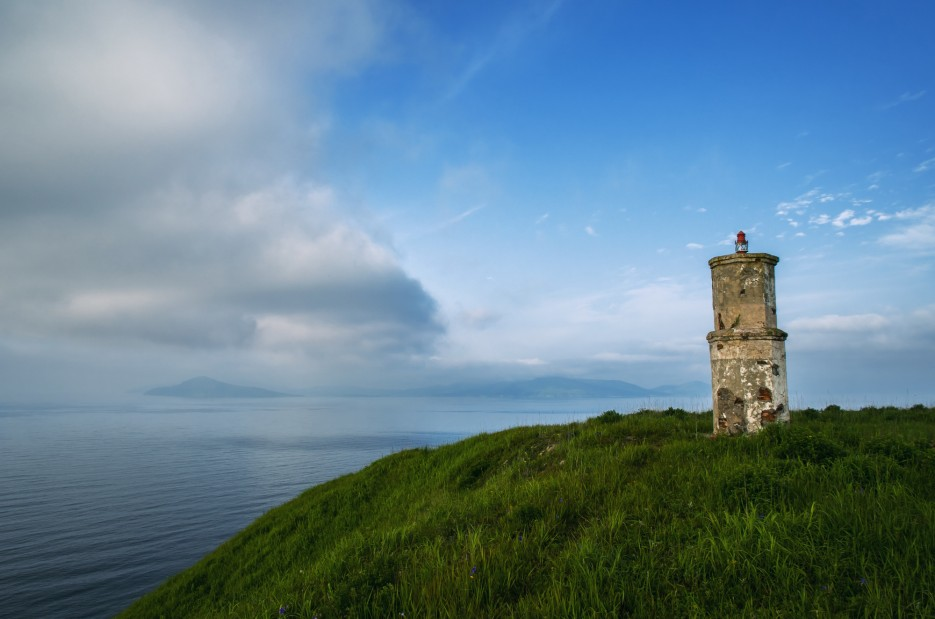ШАМОРА . ИНФО и старый маяк   Загадочный полуостров Краббе