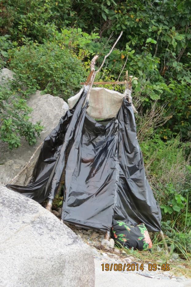 походная баня | Пеший  5 дневный походик  по сопкам и бухтам п ва Гамова