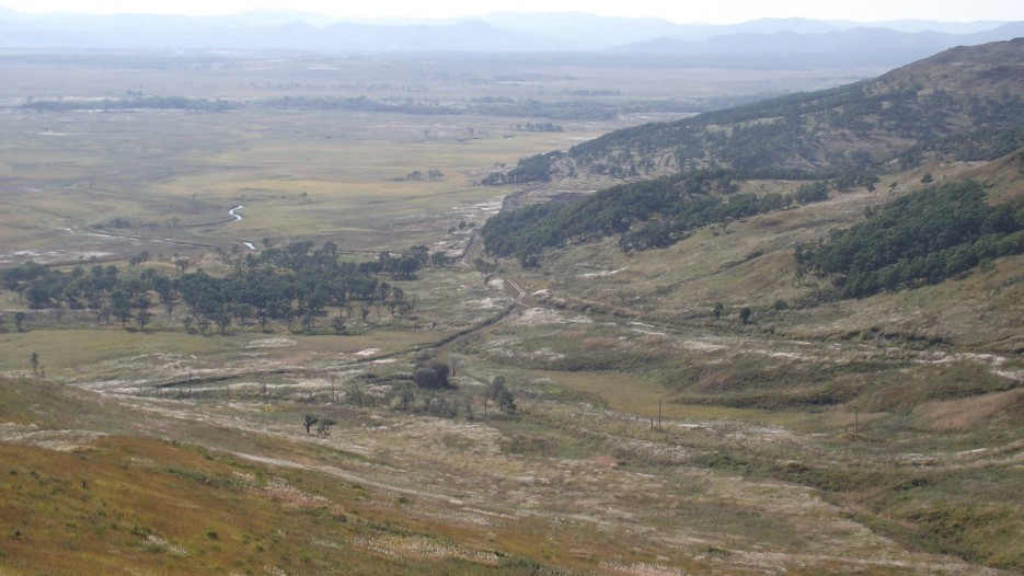 Фото 45357   Долина Адими, виды с сопки Славянка (локатор)