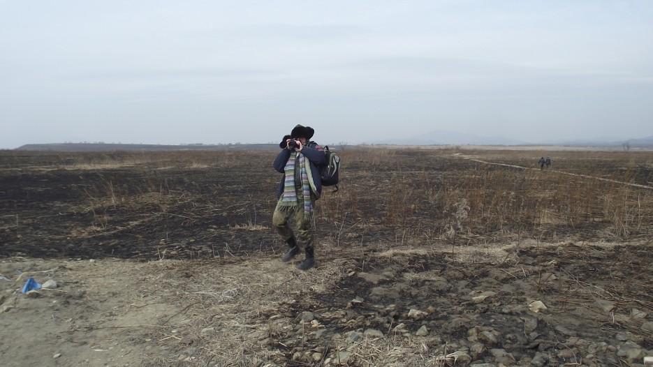 Катя фотографирует и фотографирует! | Третья экспедиция. Посьетский грот - Краскинское городище - Краскино - Посьет