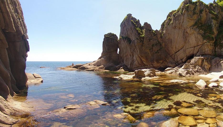 Фото 45748 | Бухта Кит, остров Опасный - северная граница Лазовского заповедника