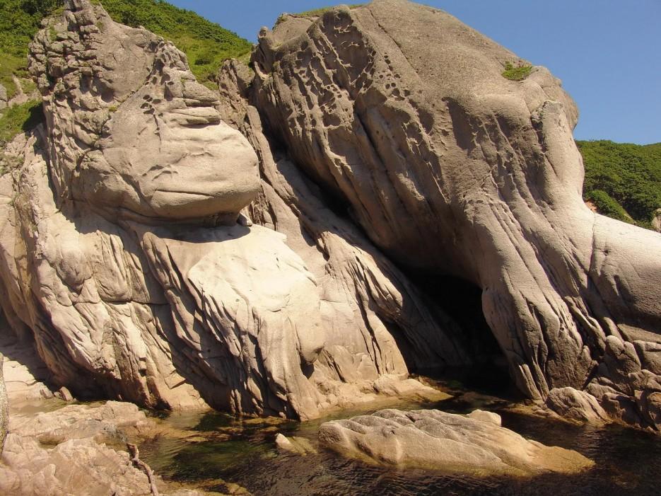 Фото 45753   Бухта Кит, остров Опасный - северная граница Лазовского заповедника