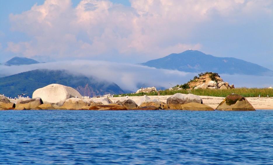 Фото 45762 | Бухта Кит, остров Опасный - северная граница Лазовского заповедника