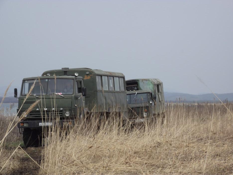 Обе машины на твердой земле! | Первомай на полуострове Краббе с Катериной Кравцовой