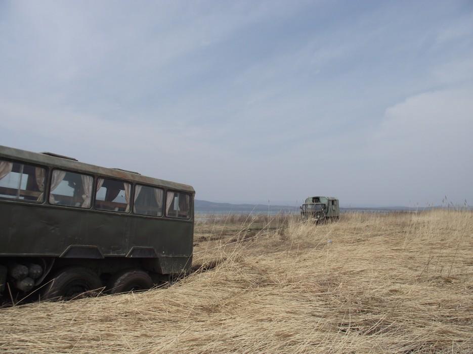 Тут подошел ГАЗ-66 с Сергеем Мурашко | Первомай на полуострове Краббе с Катериной Кравцовой