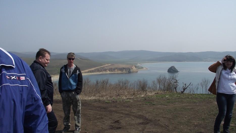 Вид на бухту Алеут с видовой площадки | Первомай на полуострове Краббе с Катериной Кравцовой