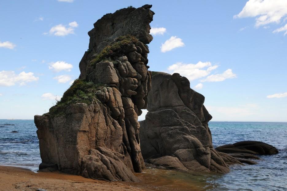 Фото 46138   Бухта Кит, остров Опасный - северная граница Лазовского заповедника