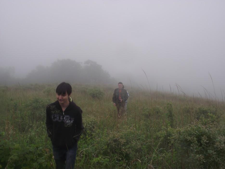 Фото 46213 | Скала Крепость на въезде в Славянку и полуостров Краббе - штурм в тумане