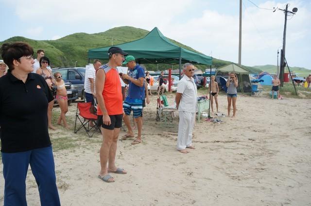 Фото 46714   «Славянский берег» не только поет, но и играет в волейбол