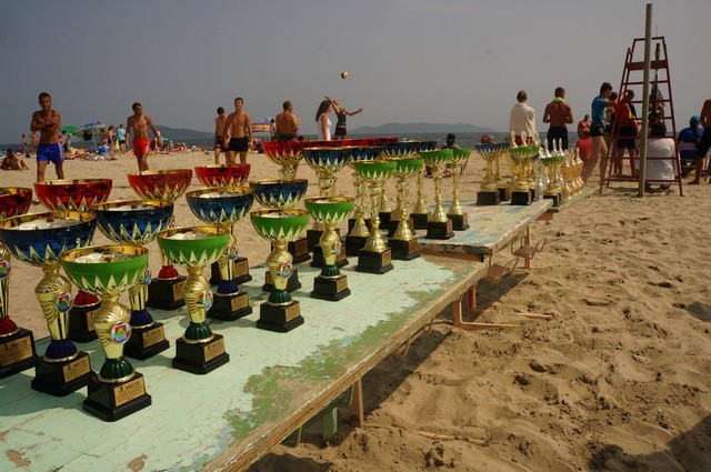 Фото 46723 | «Славянский берег» не только поет, но и играет в волейбол