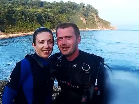 Фото 46841 | Отдых в Ливадии 2015. Пробные погружения с аквалангом