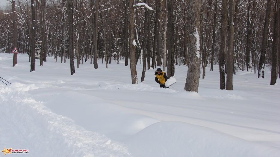 Фото 5439   Снег на «Пидан Сихотэ»