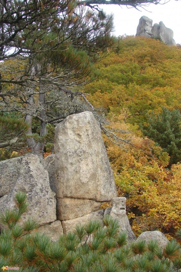 04.Каменная голова. | Чистоводное. «Парк Драконов». 9.10.2010 года.