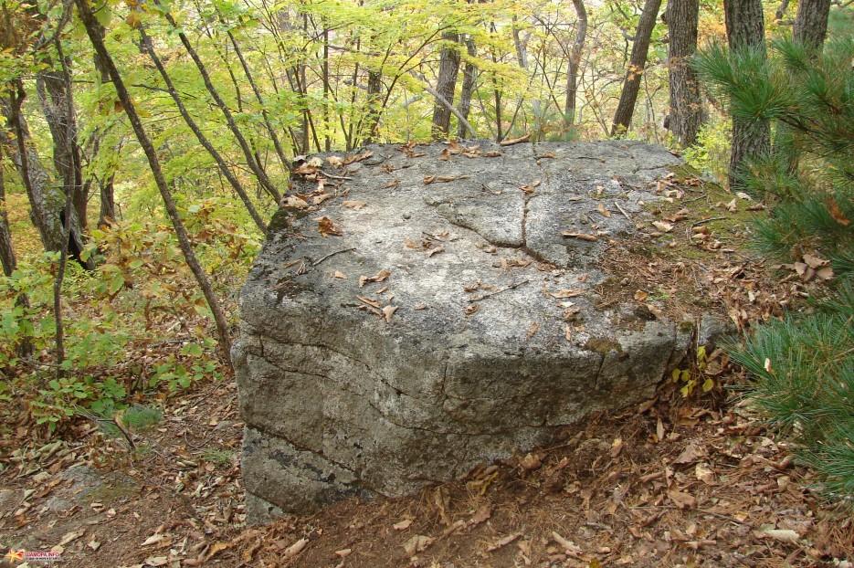 17.Камень пятигранник. | Чистоводное. «Парк Драконов». 9.10.2010 года.