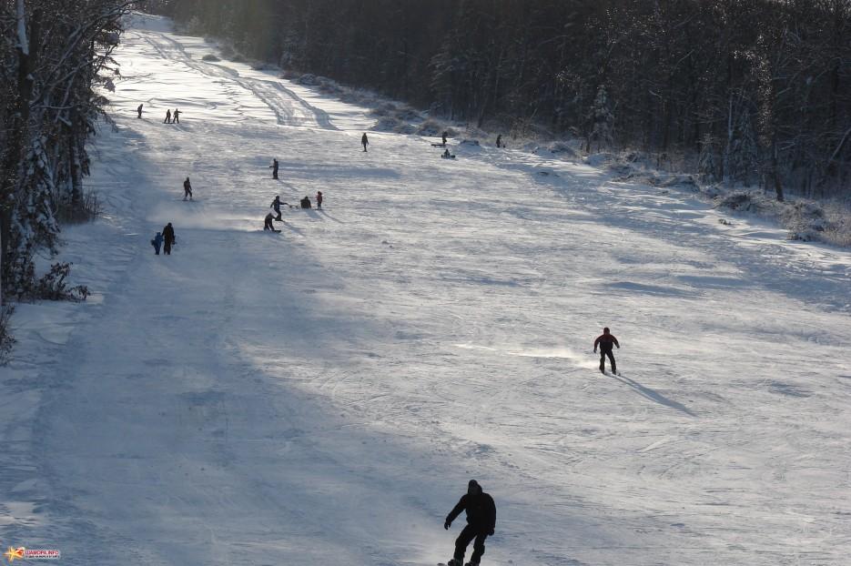 14.На горнолыжном склоне. | ЦАО «Пидан Сихотэ» 11-12  декабря 2010 года.