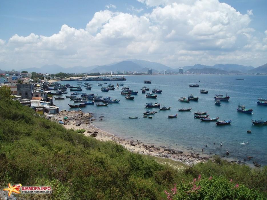 лодочки | Вьетнам. Ня Чанг.