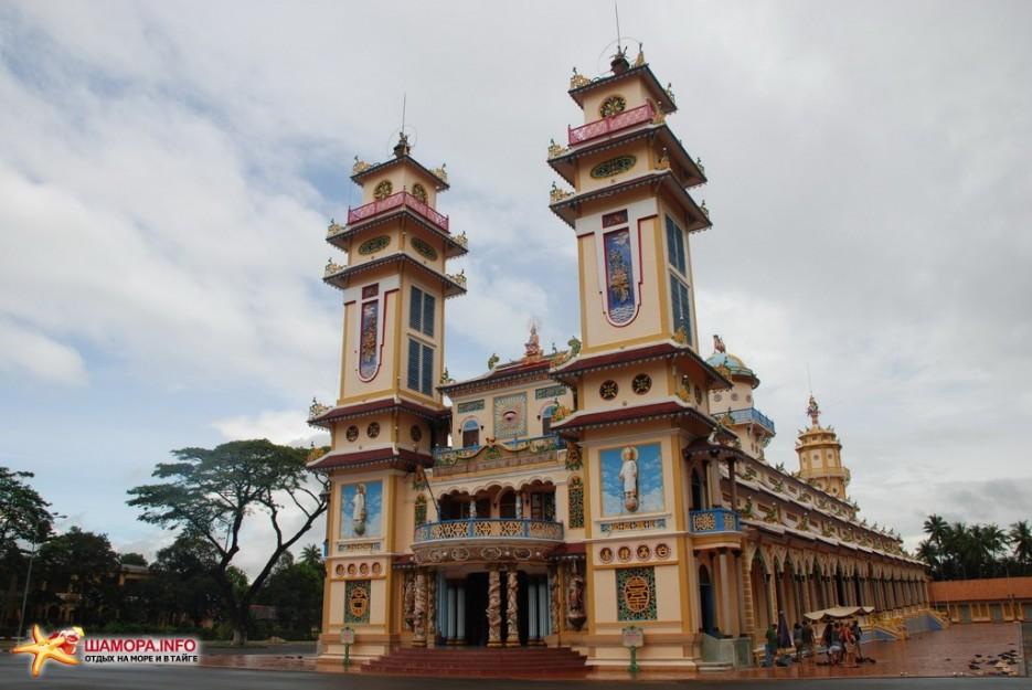 Фото 6880   Вьетнам. Храм Као Даи.