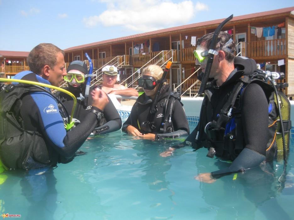 Фото 8418 | База отдыха «ГАИТИ» и Дайв-Центр «Nautilius» приглашет всех желающих пройти обучение подводному плаванию!