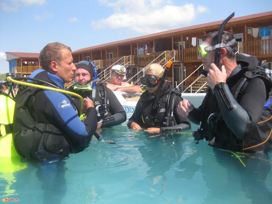 Фото 8421   База отдыха «ГАИТИ» и Дайв-Центр «Nautilius» приглашет всех желающих пройти обучение подводному плаванию!