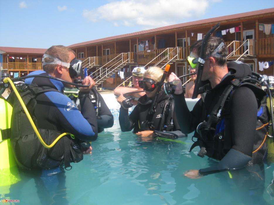 Фото 8422 | База отдыха «ГАИТИ» и Дайв-Центр «Nautilius» приглашет всех желающих пройти обучение подводному плаванию!