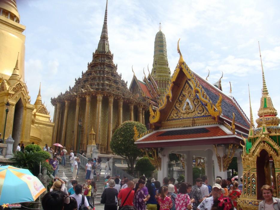 Бангкок, королевский золотой дворец | ТАИЛАНД-(Паттайя, Бангкок)-2011, Сентябрь
