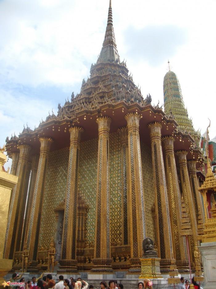 Бангкок, королевский золотой дворец   ТАИЛАНД-(Паттайя, Бангкок)-2011, Сентябрь