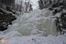 водопад Горбатый на ручье Левый Горбатов Ключ