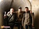 Коррепонденты ВЕСТИ-РОССИЯ в подземной галерее форта.