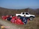 Собрали 55 мешков с мусором.