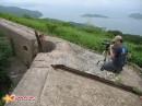 Съемки клипа. Съемки шуточного видеоклипа о форте №9, остров Русский.