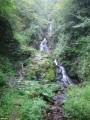 Три яруса верхнего водопада.