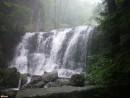 Третий водопад. Дождь.