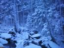 Первый снег на Лозовом ключе. Сумрак.