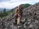 Еще далеко до привала... Склоны горы Хребтовой.