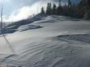 Снежная волна на хребте