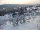 Вид с вершины Туманной на юго-запад