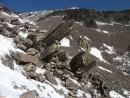 Процесс разрушения гор, образования курумов
