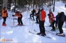 Соревнования по горным лыжам в дисциплине слалом. ГК «Грибановка» 28.02.09.