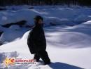 Снега нет, лежит декабрьский. Дальше не пошел боялся не вылезу