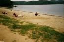 У нас раноправие!Все хотят отдохнуть на берегу моря!Бухта Рисовая.