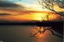 закат Вид с бухты Патрокл
