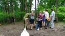 Посетители в Парке медвежат