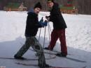 Лыжники..