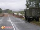 По дороге во Владивосток видели как разливаются реки после тайфуна: