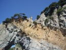 Золото Макены Необычные вкрапления в скалу придают последней неповторимый вид
