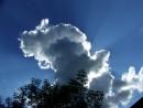 Облака. Поселок Кировский