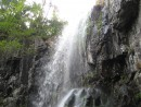 верхняя часть водопада
