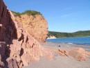 скалы острова Рикорда